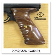 Custom Crosman 2240 1377 Sportman Right Hand American Walnut Wood & Brass Grips