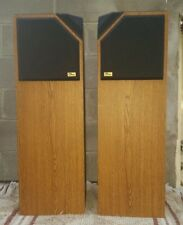 Pair Of Ohm Frs-9 Speakers Nice ! Sound.