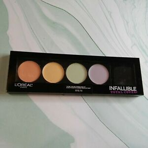 L'Oreal Infallible Total Cover Color Correcting Kit #225 Brand New, sealed