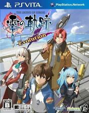 Used PS Vita Evolution: Legend Heroes Kiseki SONY PLAYSTATION JAPANESE IMPORT