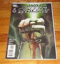 War of the Green Lanterns Aftermath #2 Dave Johnson Variant Edition 1st Print