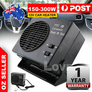 Ceramic Car Auto Van Fan Heater Warmer Window Defroster Demister 12V 150/300W