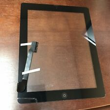 iPad 3 Front Touch Screen Glass Lens Digitizer Replacement - Black