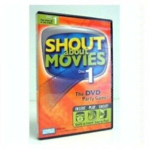 SHOUT ABOUT MOVIES DISC 1 DVD PARTY GAME. PARKER BROTHERS. Best Price