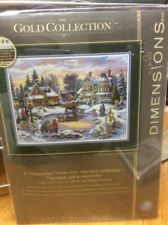 a Treasured Time 8569 Dimensions Gold Collection Cross Stitch Kit 1998 Christmas