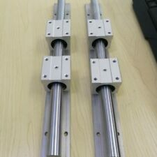 2x SBR16-1000mm Linear Rail Guide Shaft Rod + 4x SBR16UU Bearing Slider Blocks