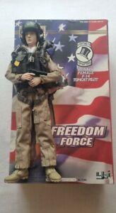 Elite Force -Tomcat Pilot F14 .... Action Figur, Freedom Force...