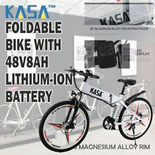 KASA 677 26 inch E-City Bike - White