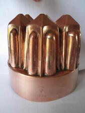 Antique Victorian English Benham & Froud Copper Jelly Mould # 479
