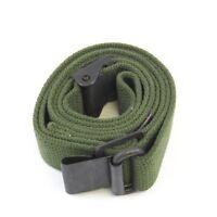 M1 Garand Cotton Sling OD Green Cotton Web - Free Ship !