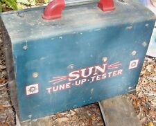 VINTAGE 1950's SUN Elec. AUTOMOTOR TESTER Mod.PTUTA CLASSIC CAR 4 units w Manual
