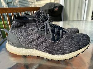 Adidas Ultra Boost ATR Mid Oreo Shoes S82036 Core Black Black White Mens Size 11