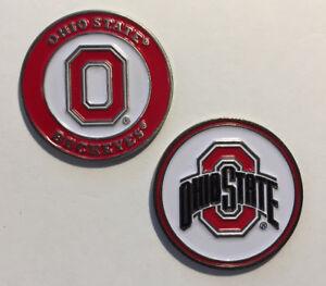 NEW NCAA Ohio State University Buckeye Golf Ball Marker
