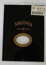 "New Ansonia Rectangular Clock Door Glass - 6"" Wide x 8"" High (C-157)"