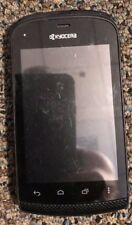 READ BEFORE YOU BUY Kyocera Hydro Plus C5170 (Tello) Black Cell Phone Good Used