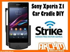 STRIKE ALPHA SONY XPERIA Z1 CAR CRADLE DIY BUILT-IN CHARGER SECURE HOLD PROTECT