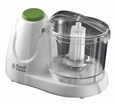 Russell Hobbs 22220 Electric Mini Chopper with Push Button Operation White