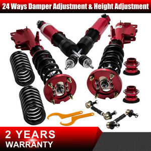 4x Amortisseur reglable 24-way Pour Ford Mustang 4.6 V8 suspension coilovers