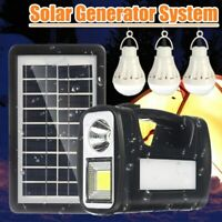 Portable Power Station Generator Outdoor Solar Flashlight Emergency battery Bank