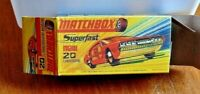 MATCHBOX SUPERFAST NO.20A LAMBORGHINI MARZAL CUSTOM REPLACEMENT DISPLAY BOX ONLY