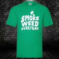Smoke Weed Everyday T-Shirt Music Chill Shirt Marihuana Dope Funshirt Kult S-5XL