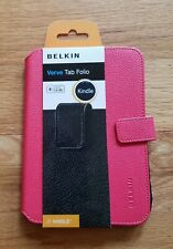 Belkin Verve Tab Folio for Kindle Touch Sunset Pink NEW