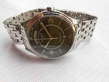 EXCELLENT TISSOT T-CLASSIC T-ONE BLACK DIAL DAY DATE GENTS AUTOMATIC WRISTWATCH