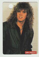 1980s UK Pop Star Card Swedish Europe Final Countdown Group Singer Joey Tempest