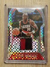 Clyde Drexler 2017-18 Panini Prizm Jersey Relic Card 5/10