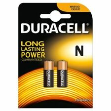 Duracell N MN9100 LR1 Batteries - 2 in Pack- FREE P&P