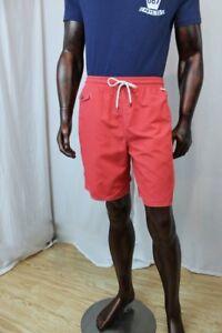 """Ralph Lauren Men's """"Red Reef"""" Color Swim Trunks~ NWT"""