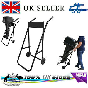 Outboard Motor Trolley Stand for Boat RIB Engine. Heavy Duty 70kg Load Capacity