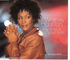 WHITNEY HOUSTON - MY LOVE IS YOUR LOVE CD1 (3 track CD single)