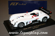 Slot car SCX Scalextric Fly E91 Panoz LMP-1 U.S.A Special Edition Mario Andretti