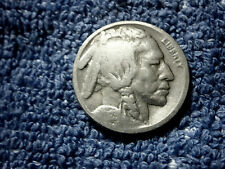 Rare Buffalo Nickel 1923-S About Très Fin