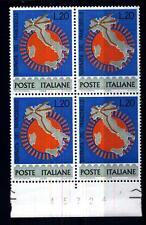 ITALIA REP. - 1965 - 7ª giornata del francobollo - 20 L. - Cartina d'Italia con