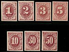 #J22P4-J28P4 Vf-Xf Plate Proof On Card Cv $119.00 Bq2851