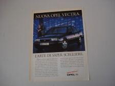 advertising Pubblicità 1993 OPEL VECTRA CD