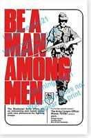 1968 Civil Rights I Am A Man Memphis Sanitation Workers Strike Retro Poster
