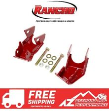 Rancho Rear Shock Control Arm Skid Plate Set For 18-20 Jeep Wrangler JL RS62125