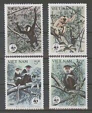 Echte Briefmarken mit Tier-Motiven aus Vietnam