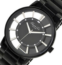 PRE-OWNED $135 Kenneth Cole York Men's Transparency See-Thru Dial Watch KC3994