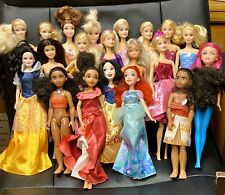 Barbie Doll Lot Of 20 Mattel Barbies & Disney Dolls