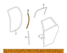 Chevrolet GM OEM 09-16 Traverse Rear Door-Rear Weatherstrip Seal Right 22754388