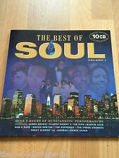 VARIOUS THE BEST OF SOUL VOLUME 1 SPECIAL EDITION 10 PICTURE DISC CD ALBUMS L3
