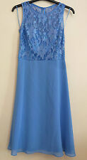 Ariella Of London Sequin Lace Party Dress Size 8 Uk RRP £89 BNWT Baby Blue