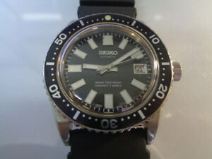Seiko Diver Mens Watch Automatic 7S26-0040 Modded 62mas Black Dial SN. 152329