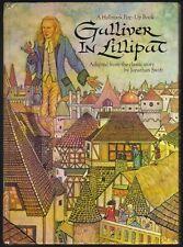 Vintage Hallmark Pop-Up Book GULLIVER IN LILLIPUT ~ Cunningham 1975 VG
