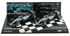 Minichamps Mercedes Constructors Champion 2015 Hamilton/Rosberg 2 Car Set 1/43