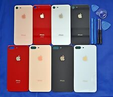 Back Rear Glass Housing Battery Cover Replacement For Apple iPhone 8 / 8 Plus